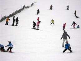 Simulated skiers reveal mountain traffic jams