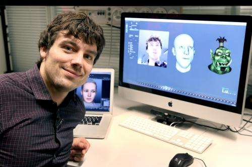 Software enables avatar to reproduce our emotions in real time