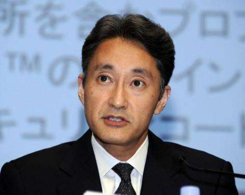 Sony Chief Exec Kazuo Hirai