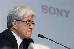 Sony reports record annual loss (AP)