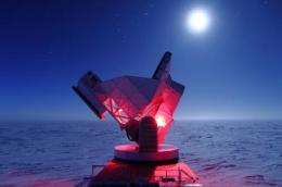 South Pole Telescope hones in on dark energy, neutrinos