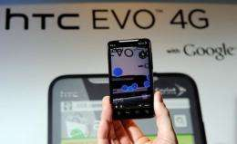 """Sprint said in a statement that the phone, known as the HTC EVO 4G LTE """"has been delayed"""""""