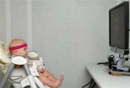 Study: Babies try lip-reading in learning to talk (AP)