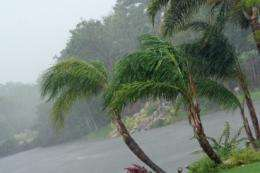 Study estimates rate of intensification of extreme tropical rainfall with global warming