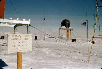 Study shows rapid warming on the West Antarctic Ice Sheet