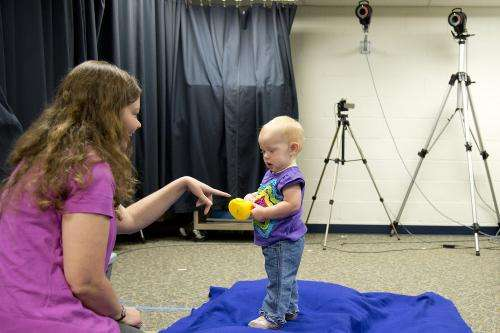 Study: Standing babies stay steady when focused