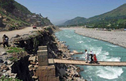 Taliban insurgents led by cleric Maulana Fazlullah terrorised the Swat valley from 2007 to 2009