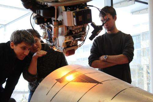 Tape Laying gets closer to Series Production