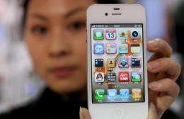 The Apple brand is wildly popular in China
