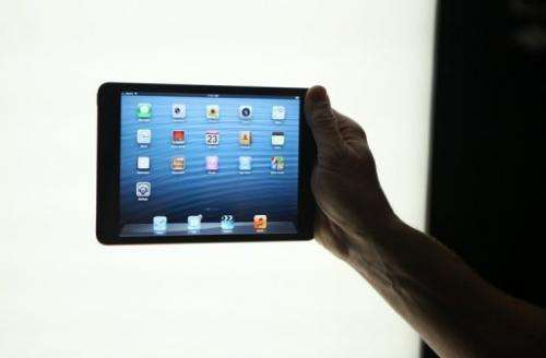 The iPad mini is being launched on Friday in about three dozen countries in Asia and Europe in addition to the US
