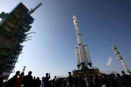 """The launch -- China's first manned space mission since September 2008 -- would occur """"sometime in mid June"""", Xinhua said"""
