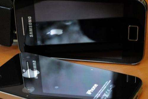 """The smartphone market is """"dominated"""" by Samsung and Apple"""