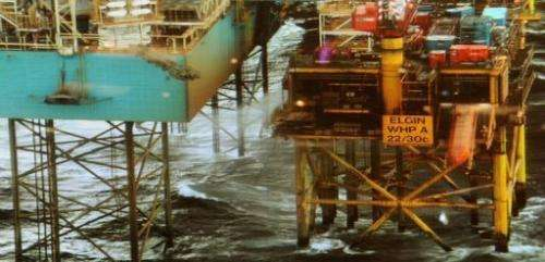 Total warned that efforts to stop the gas leak at its Elgin platform could take time