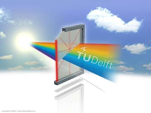 TU Delft student offers new insights into power-generating windows