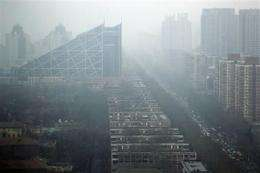 Two-thirds of China's cities fail on air standards (AP)