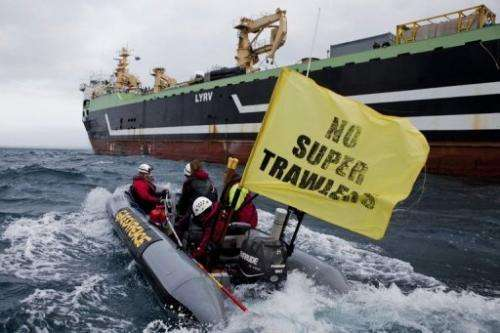 Under the new laws, the super-trawler would not be able to fish until new scientific research had been carried out