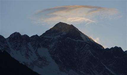 US scientists head to Mount Everest for research (AP)