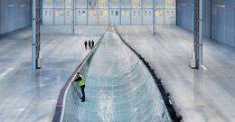 Wind turbine with record-breaking rotors