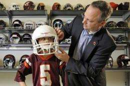 Youth football head impact study published