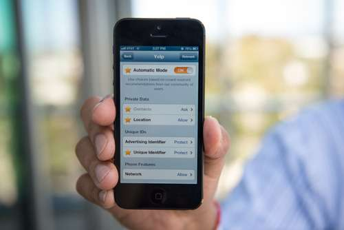 App to protect private data on iOS devices finds almost half of other apps access private data