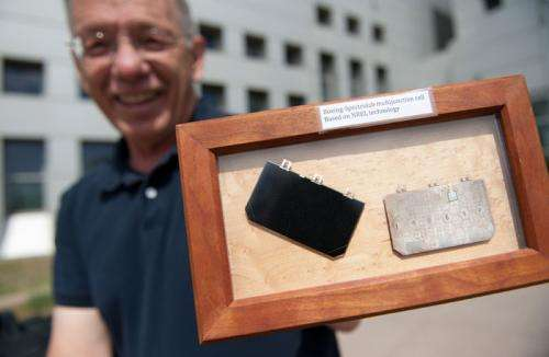 Award-winning PV cell pushes efficiency higher
