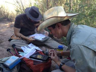 Biologists ditch traditional methods in favor of new record keeping app