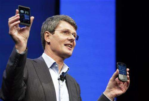 BlackBerry CEO says iPhone is outdated