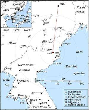 Latest Korea nuke test dwarfed previous ones: Seismic waves show steady progress to bigger bomb, scientists say