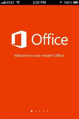 Lightweight Microsoft Office available on iPhone
