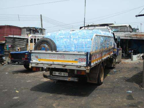 Looking at sachet water consumption in Ghana
