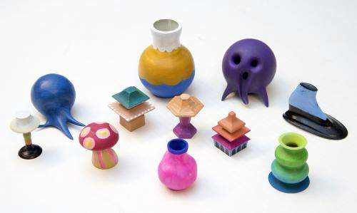 'Makers' 3-D print shapes created using new design tool, bare hands