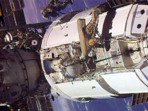 NASA suspects bad valve for space station trouble