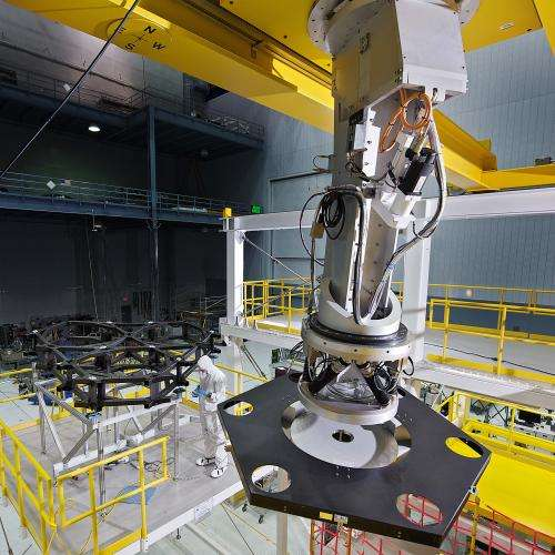 Practice makes perfect with Webb telescope mirror placement