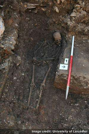 Richard III's skeleton came within inches of destruction