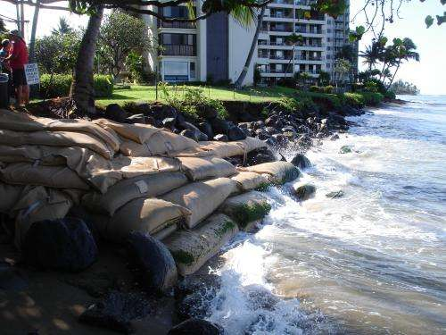 Sea-level rise drives shoreline retreat in Hawaii