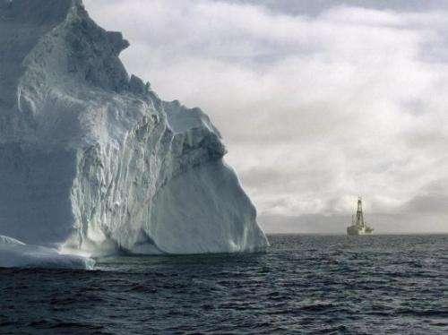 The Antarctic polar icecap is 33.6 million years old
