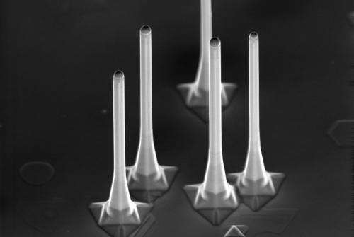 Tiny lasers light up future electronics