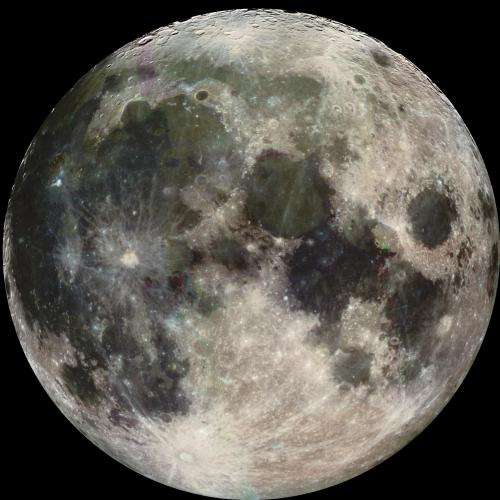 Water hidden in the Moon may have proto-Earth origin