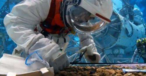 """Video: NASA testing modified """"pumpkin suit"""" for asteroid mission spacewalks"""