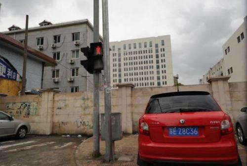 12-storey building (C back) alleged in a report on February 19, 2013 as the home of a Chinese military-led hacking group