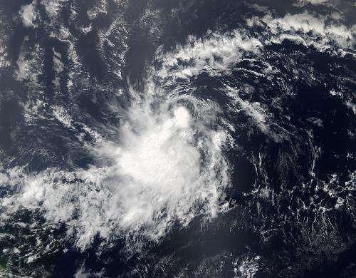 NASA sees Tropical Storm Chantal develop quickly in Atlantic