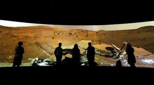 AP PHOTOS: Curiosity rover's first year on Mars