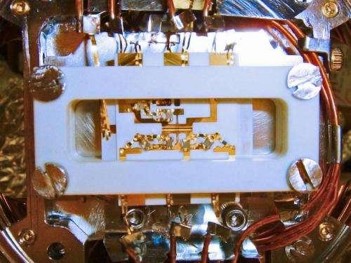 16 atomic ions simulate a quantum antiferromagnet