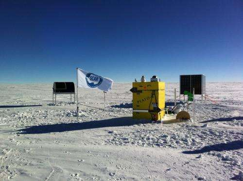 Building a telescope in the coldest place on Earth