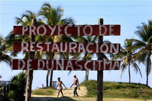 Cuba girds for climate change by reclaiming coasts