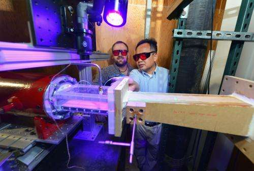 Engineers develop new tests to cool turbine blades, improve engines
