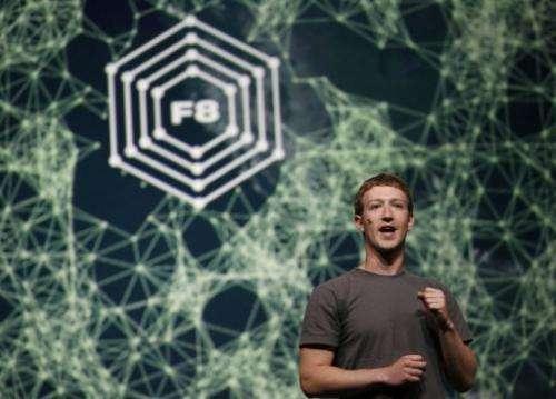 Facebook CEO Mark Zuckerberg delivers a keynote in San Francisco on September 22, 2011 in California