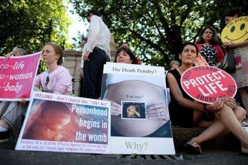 Irish lawmakers agonize over abortion vote