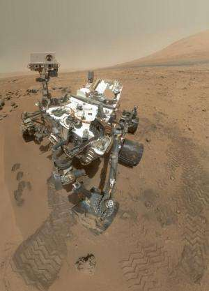 NASA Mars rover Curiosity finds water in first sample of planet surface