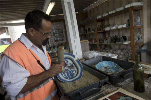 Archeologists in Brazil find imperial objects